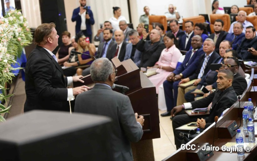 Pastores Asamblea Nacional Daniel Ortega Nicaragua