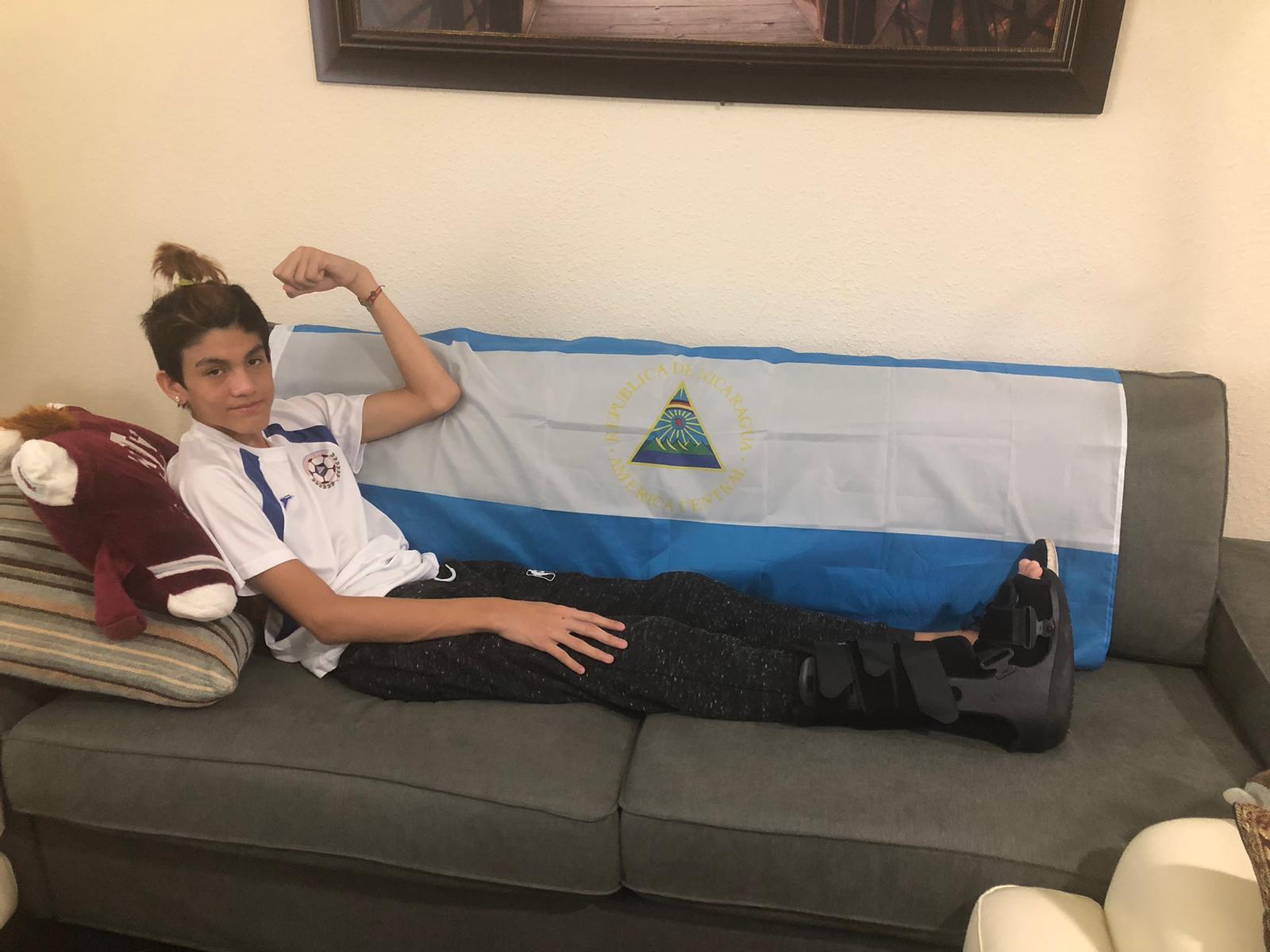 Adolescente Estados Unidos Exiliado Daniel Ortega
