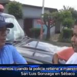 ataque sacerdote policía Nicaragua