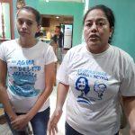 Ivania Alvarez y Neyma Hernández tras ser excarceladas.