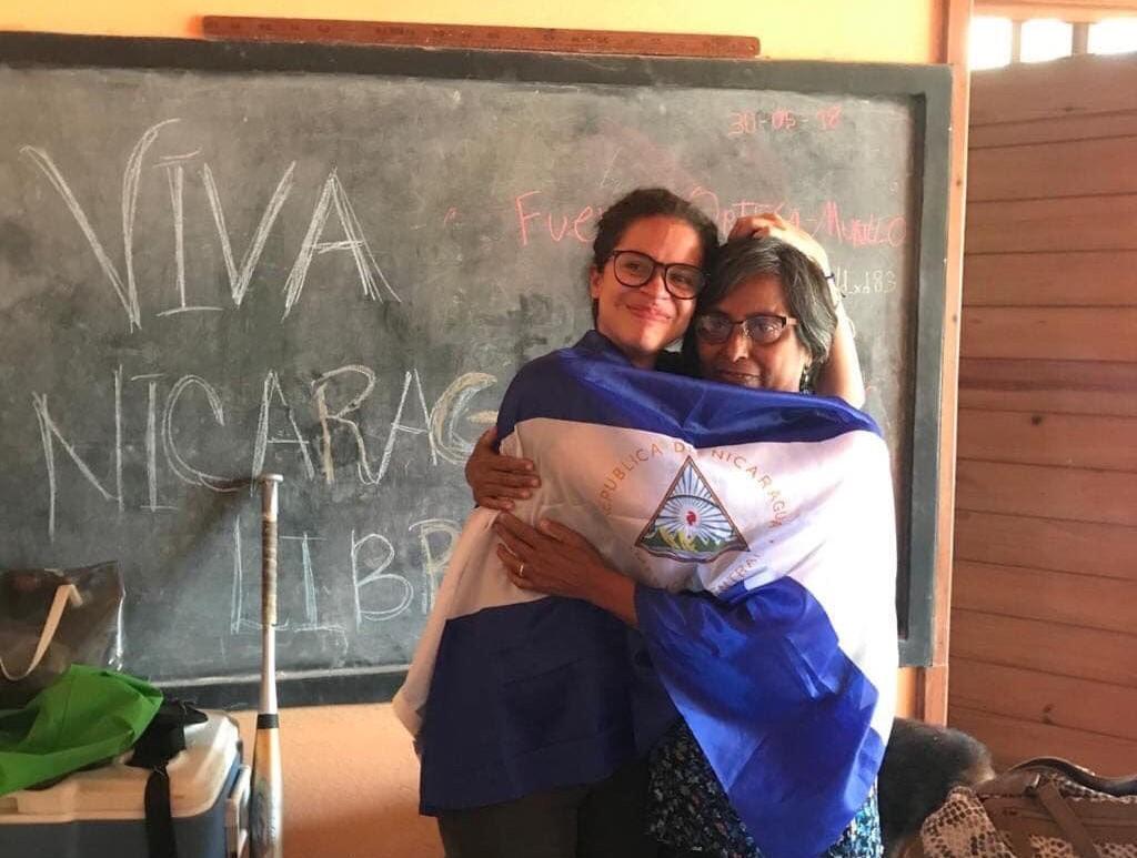 Amaya Coppens excarcelados políticos Nicaragua