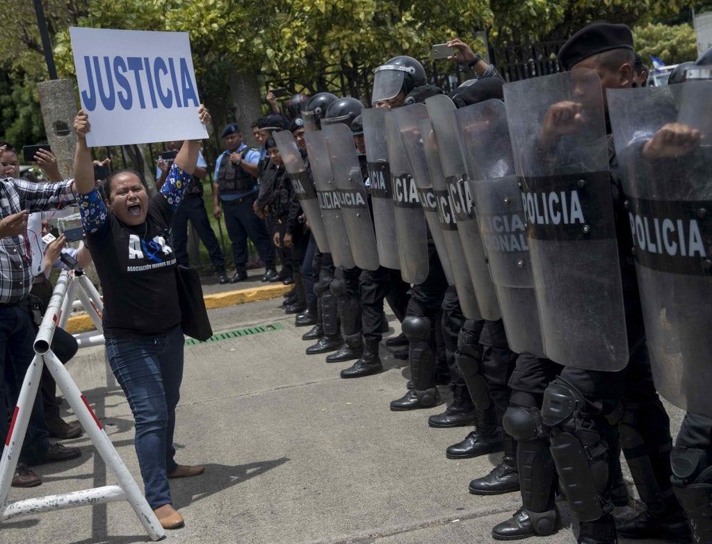 escalamiento de la represión