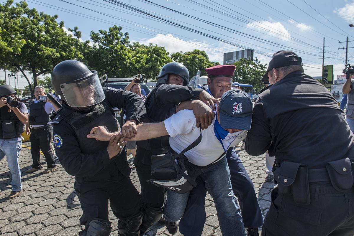 violación derechos humanos Nicaragua