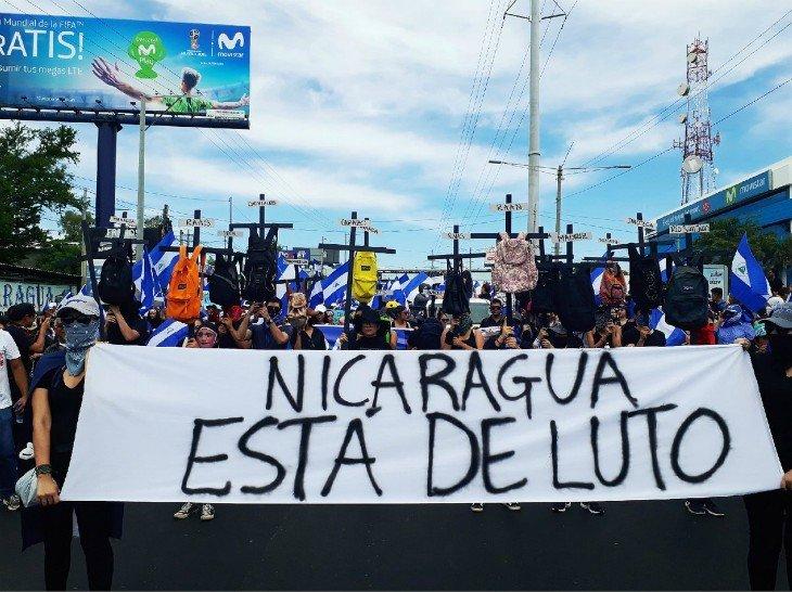 asesinatos crisis Nicaragua