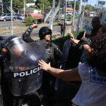 Represión Nicaragua