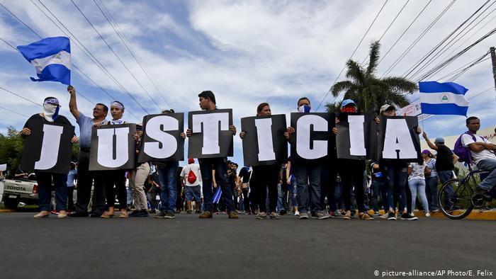 Nicaragua justicia Esteban Félix