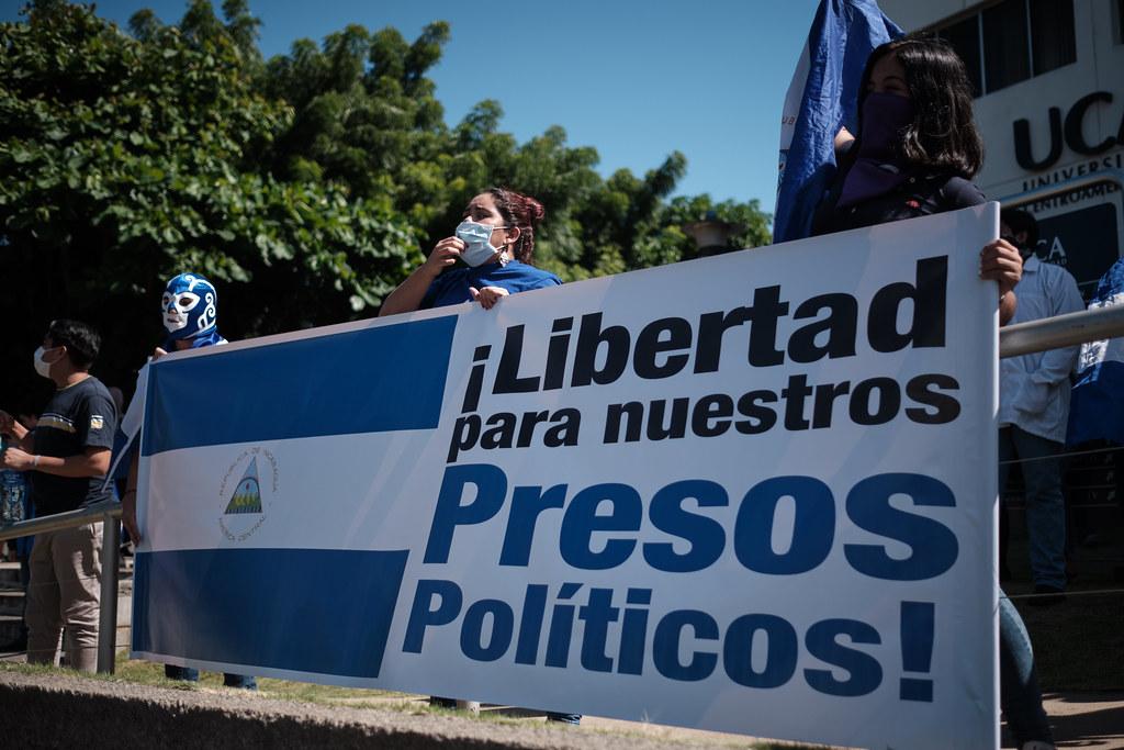 presos políticos Nicaragua