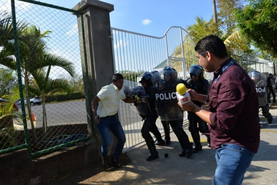 periodistas Nicaragua
