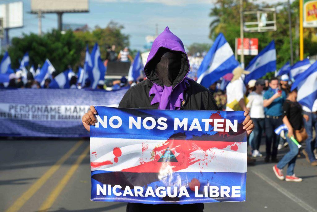 dos años denuncia internacional Nicaragua