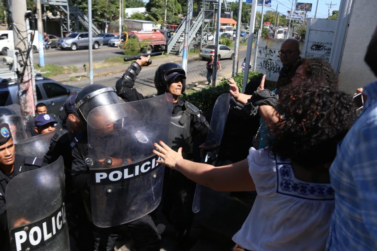 mujeres periodistas Nicaragua