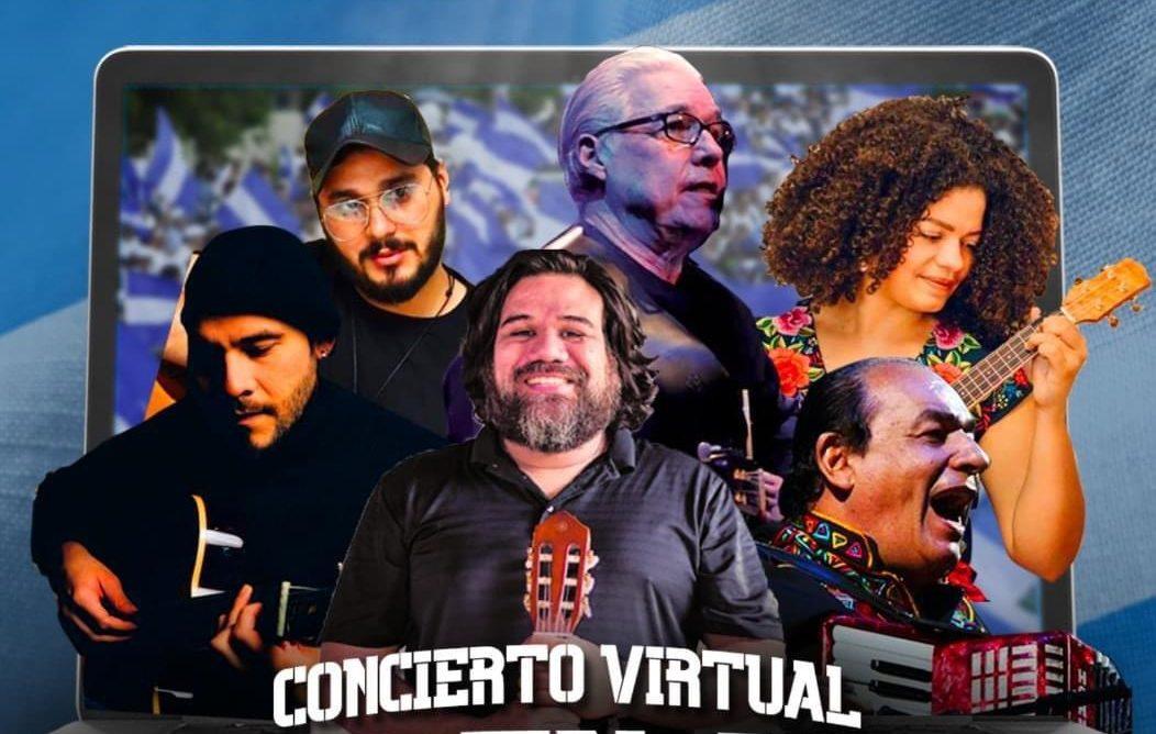 concierto virtual Nicaragua
