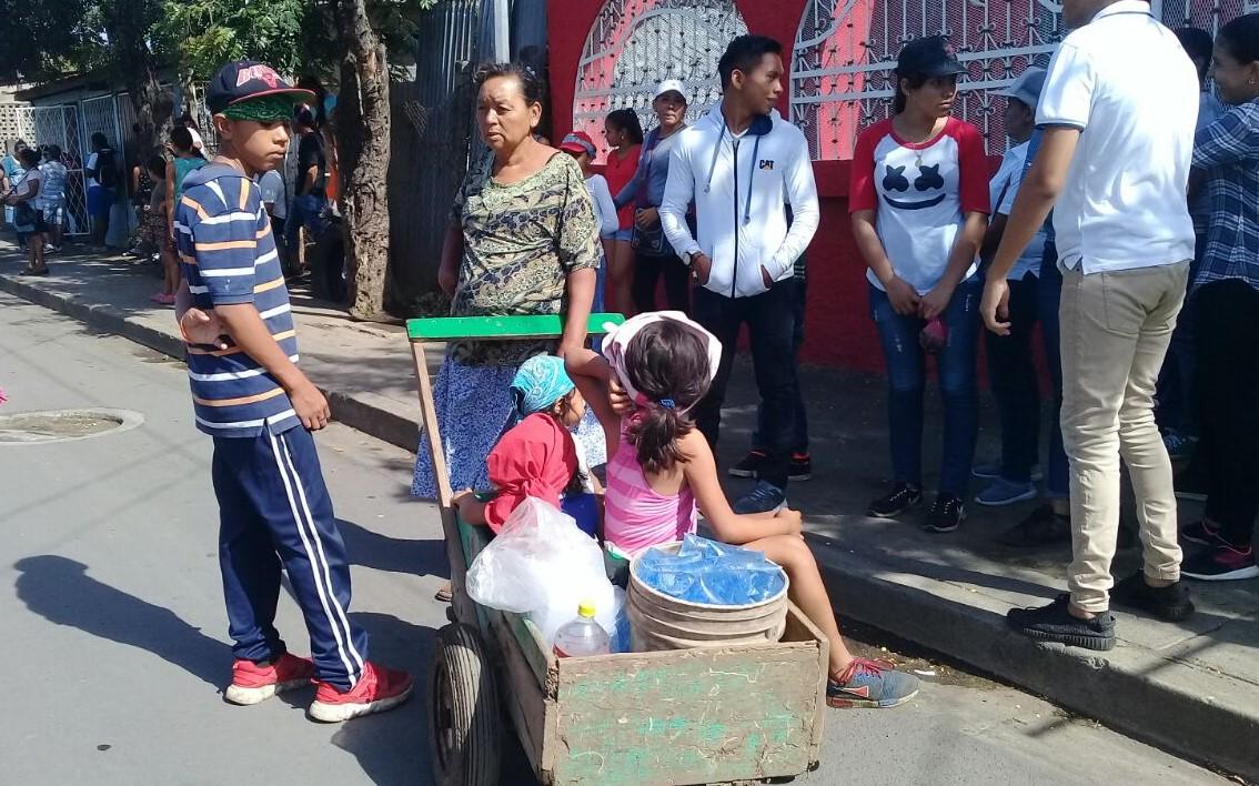 vendedora informal Nicaragua