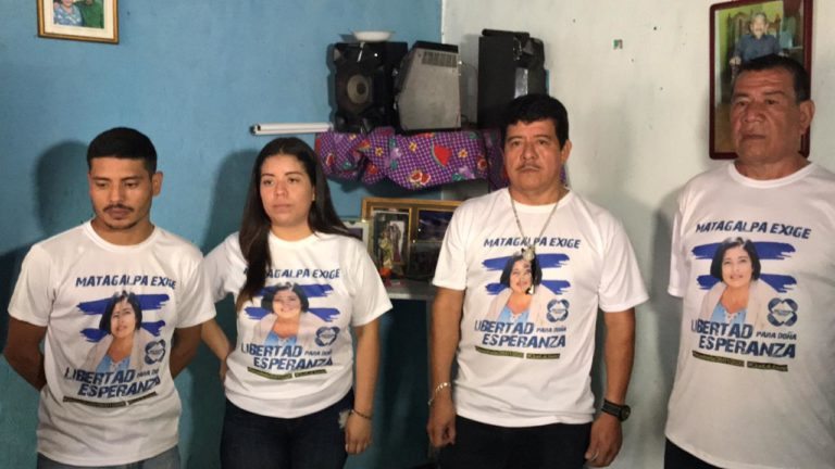 Exigen-libertad-para-Esperanza-Sánchez-Radio-Vos-Matagalpa-768x432