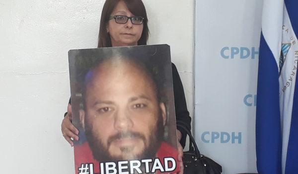 Margine Blandón madre de Jaime Navarrete