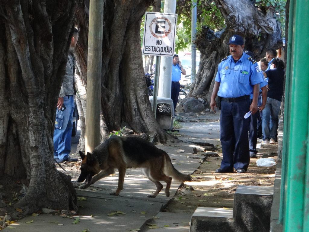 epidemia de robos Managua