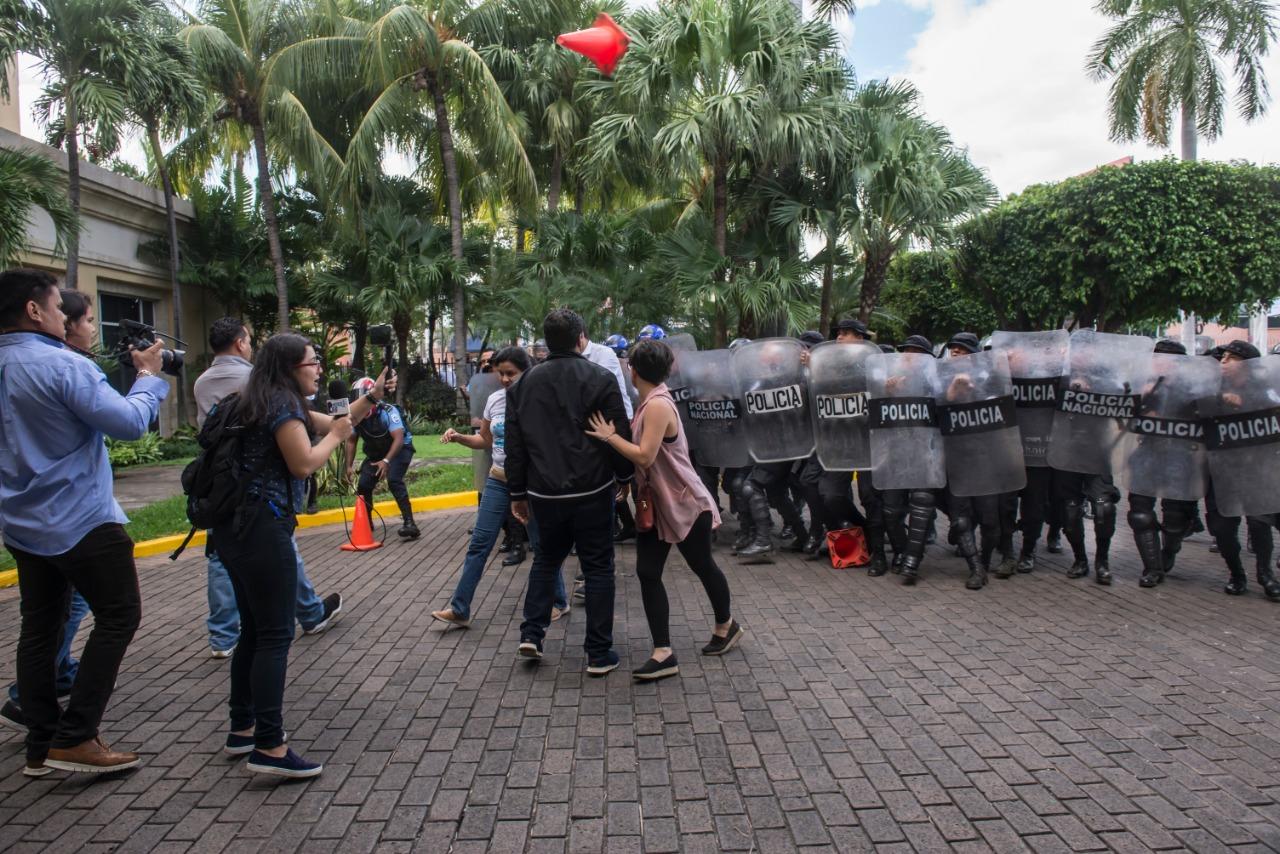 escalada represión periodismo