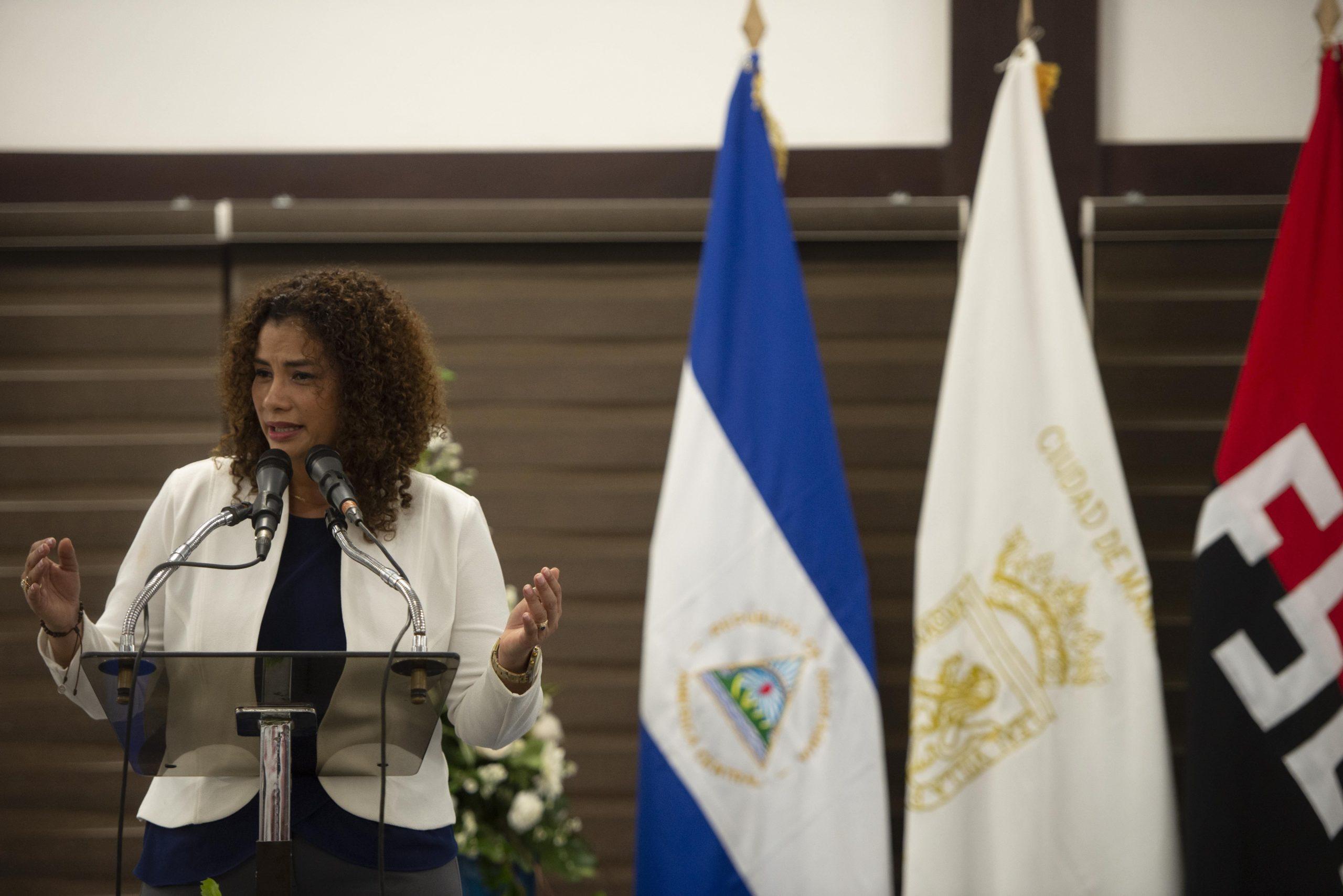 Reyna Rueda Alcaldía Managua
