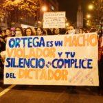 Feministas por Nicaragua en Euskal Herria. Foto: Cortesía