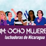 mujeres luchadoras Nicaragua